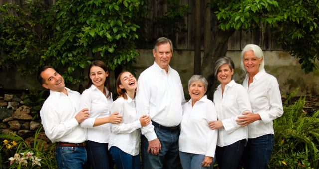 Family Portrait Session with Extended Family | San Carlos, CA
