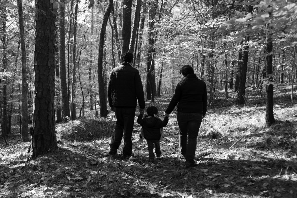 Family portrait session in Chapel Hill, NC