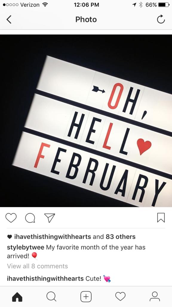 Oh, Hello February