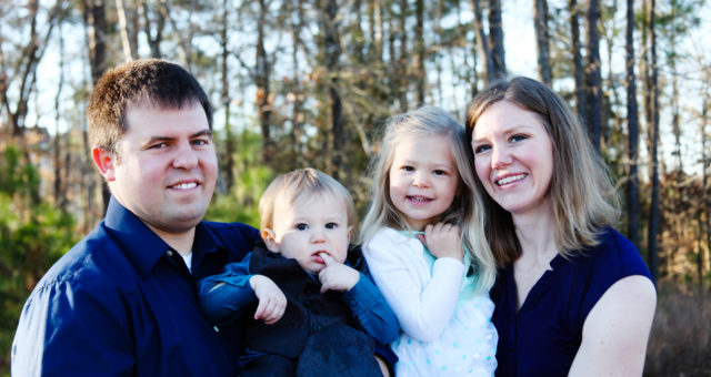 A Family Portrait Session with Grandparents | Morrisville, North Carolina