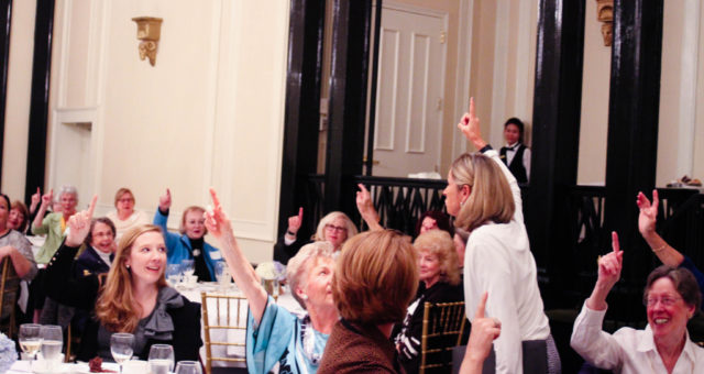 The University Woman's Club Annual Meeting hosts the Sir Walter Cabinet | Chapel Hill Event Photography