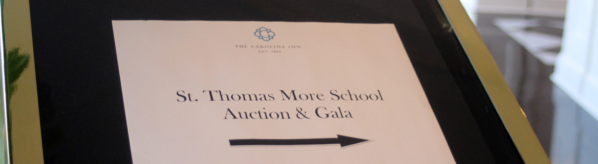 St Thomas More's Gala & Auction at Carolina Inn was a hit!