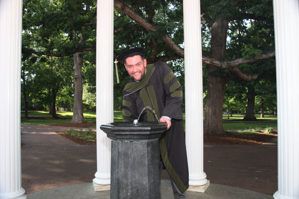 Portraits taken at UNC's Old Well prove that traditions are alive and well.