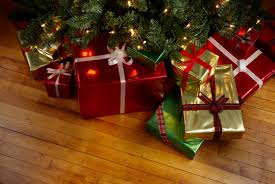 Gifts under the tree are a great way to pamper yourself.
