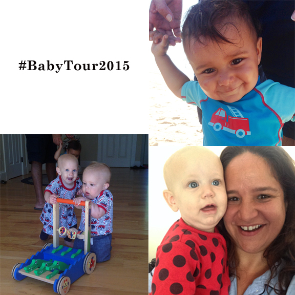 #BabyTour2015 is a chance to see all the new babies of my friends!