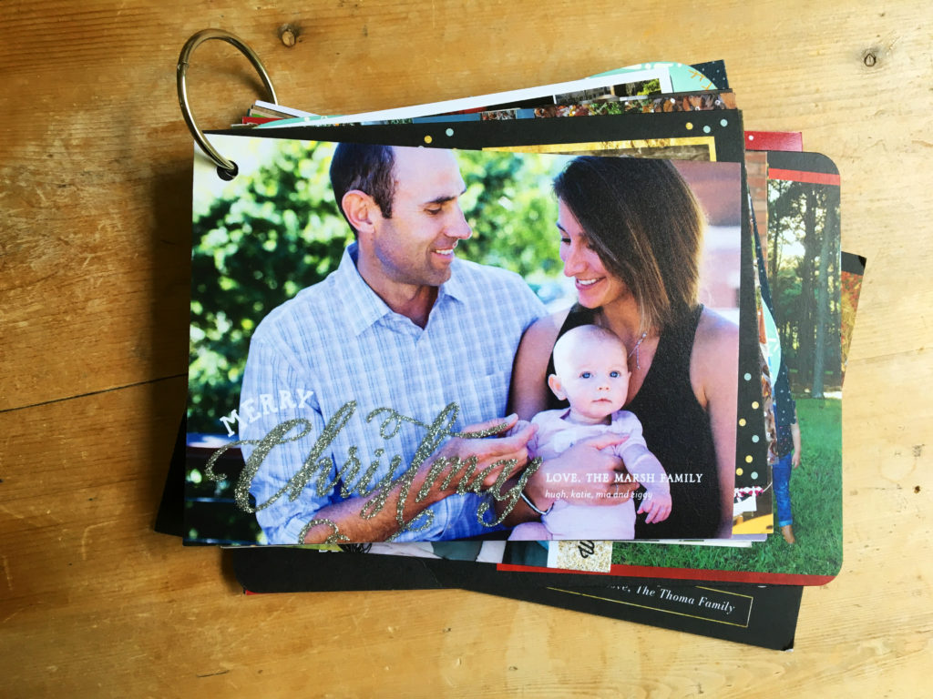 What will you do to re-use and recycle your Christmas cards?
