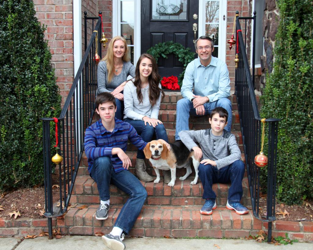Family Portrait in Charlotte, North Carolina