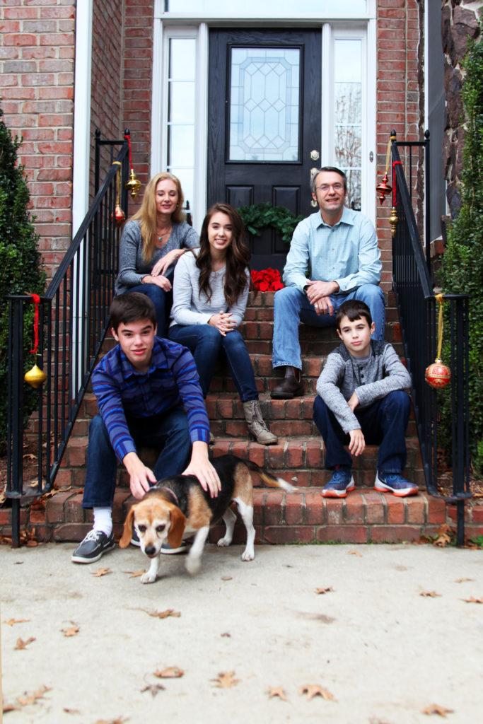 Family portrait session |  North Carolina | Barbara Bell Photography