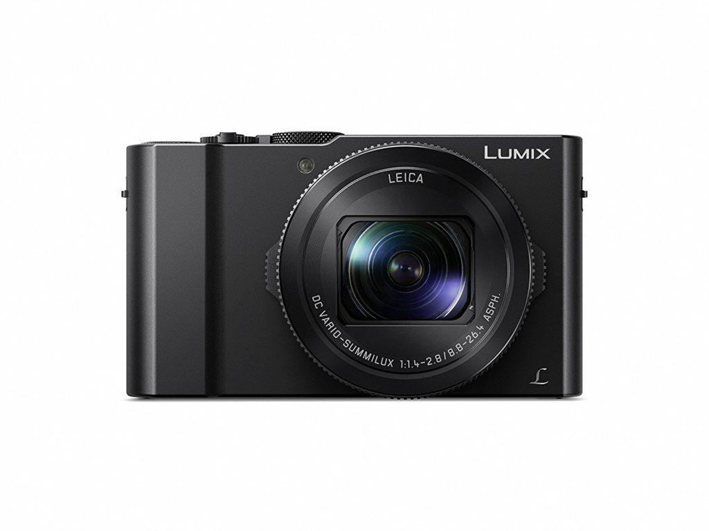 "Panasonic LUMIX DMC-LX10K Camera, 20.1 Megapixel 1"" Sensor, 3X 24-72mm F/1.4-2.8 LEICA DC Lens in Black"