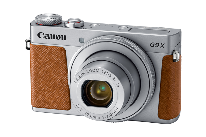 CanonPowerShot G9 X Mark II in Silver
