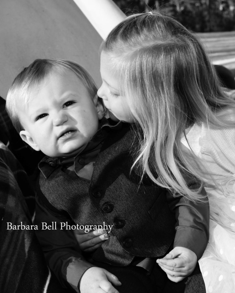 Sibling portraits are always fun because of the expressions that come from the session.