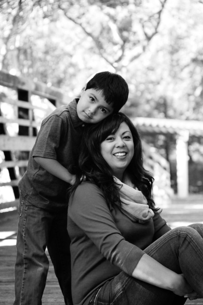 Moms and their sons deserve a special family portrait session.