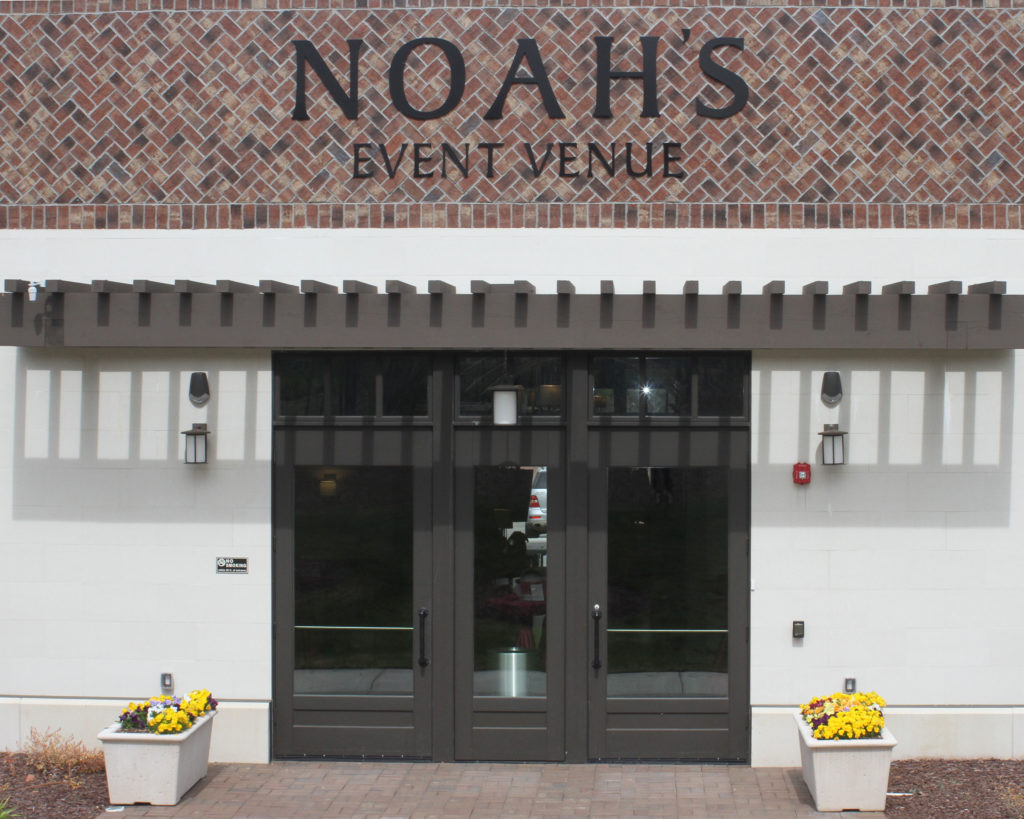 The newly constructed Noah's Event Venue in Morrisville, NC was the perfect spot for this couple's 20th anniversary party. | Barbara Bell Photography