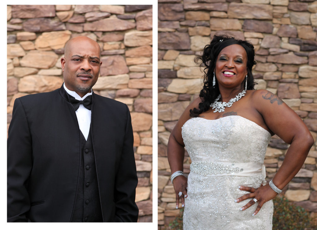 This couple celebrated their 20th wedding anniversary this past weekend and took some time out for formal portraits at Hyatt House in Morrisville, North Carolina | Barbara Bell Photography