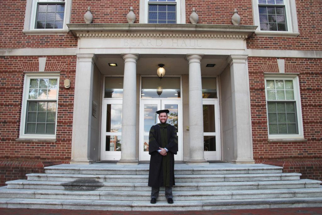 Beard Hall of UNC's School of Pharmacy in Chapel Hill