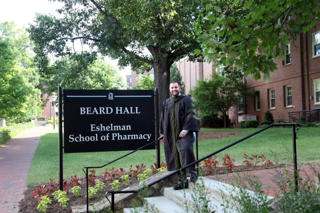 Dr. Jones, a recent graduate of the UNC Eshelman School of Pharmacy at UNC - Chapel Hill, NC