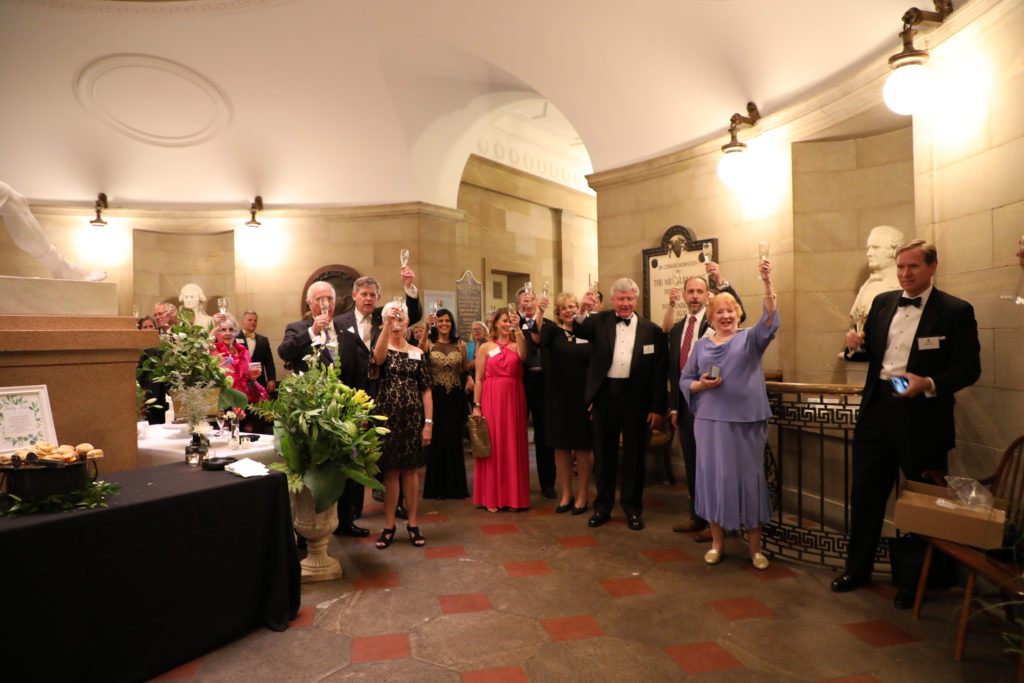Gala celebration at the NC State House in Raleigh, NC. Barbara Bell Photography captured the fun, the festivities, and the toast.