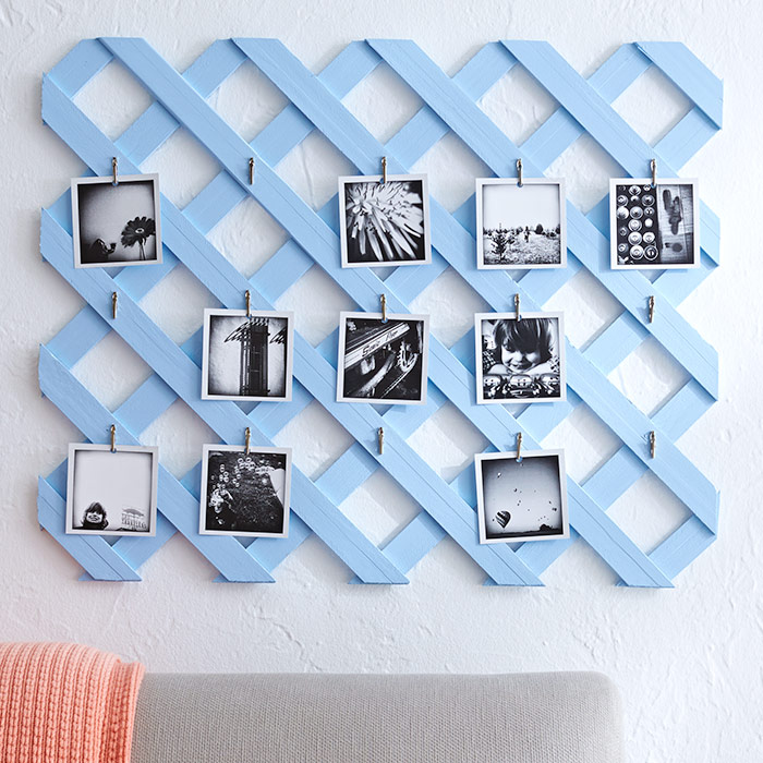 Lattice Photo Display is where you can enjoy your summer photos long after summer ends.