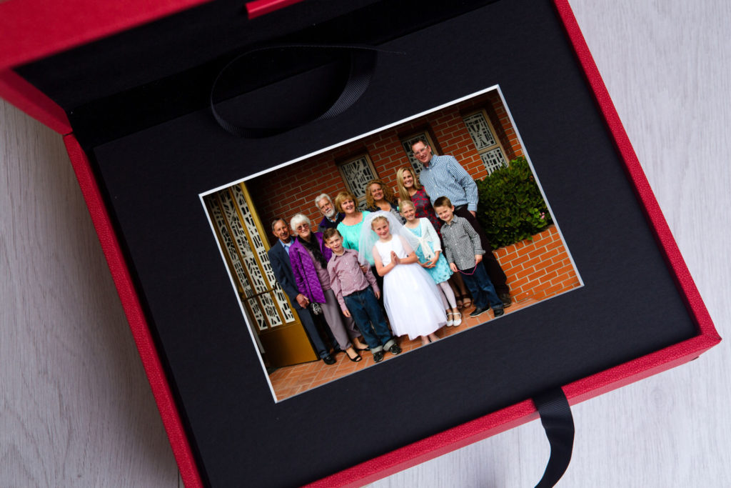 Family Portraits at a First Communion matter the most with Barbara Bell Photography near Chapel Hill, NC