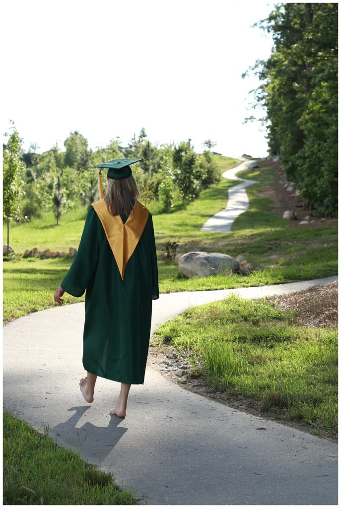 Barbara Bell Photography near Chapel Hill, NC captures high school seniors as they graduate and take their next steps.