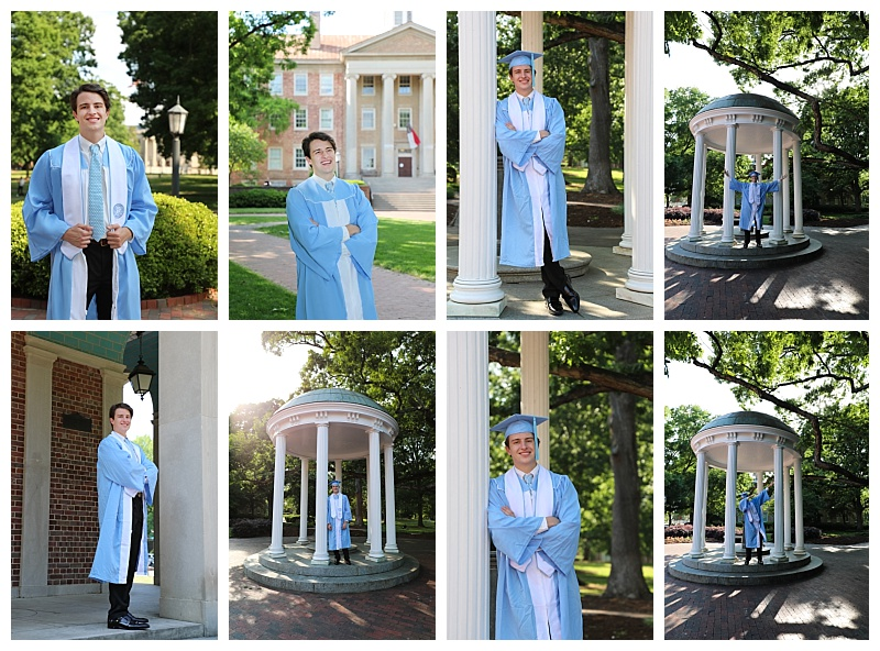 Graduation portraits are an important milestone to celebrate and capture. UNC Graduates get to show off their hard work by wearing the cap and gown.